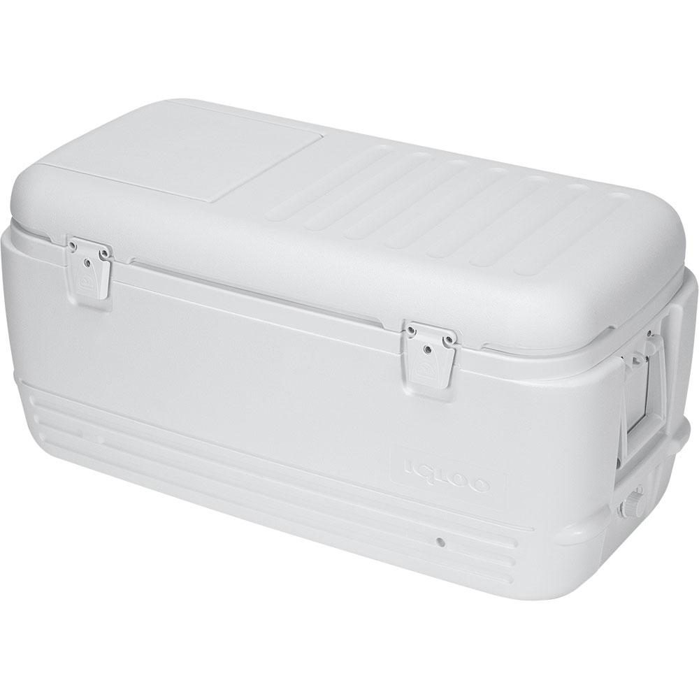 Caixa Termica / Cooler Nautika Igloo Quick  Cool 100 QT Branco
