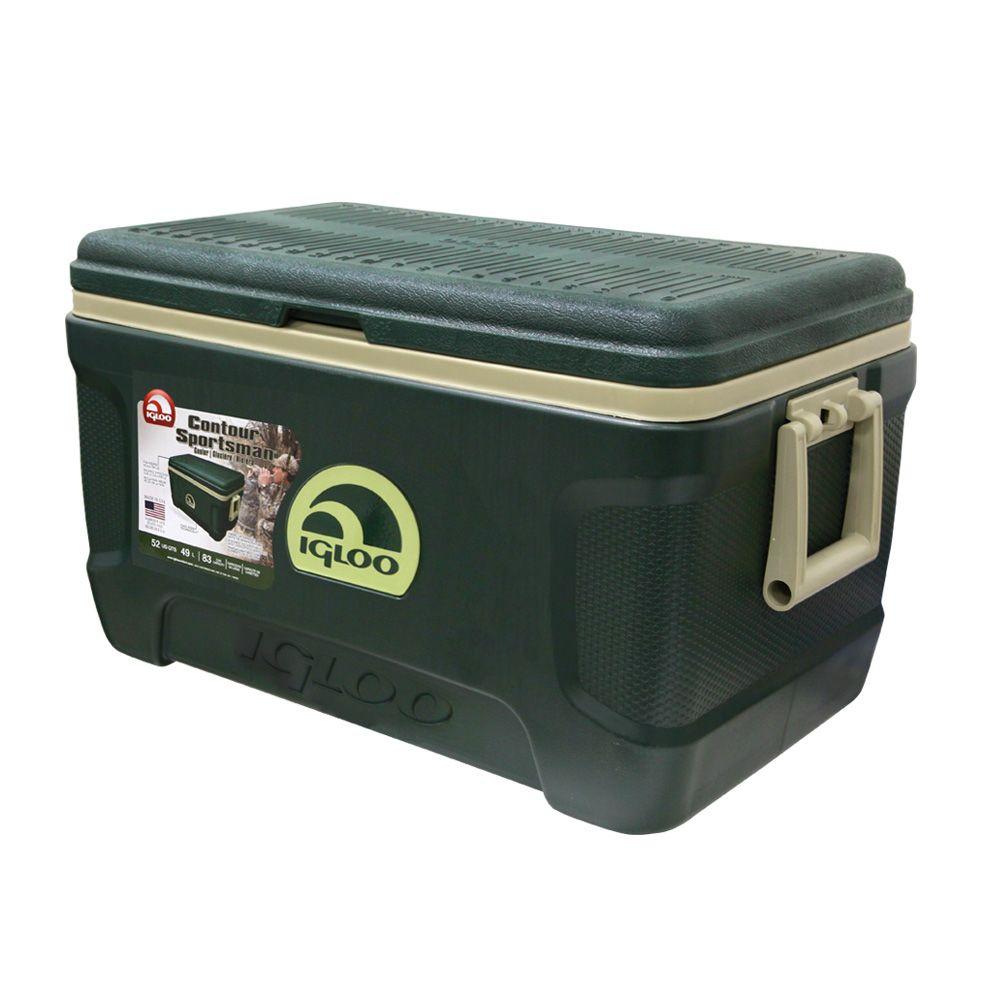 Caixa Termica/Cooler Nautika Sportman Contour 52 QT Verde