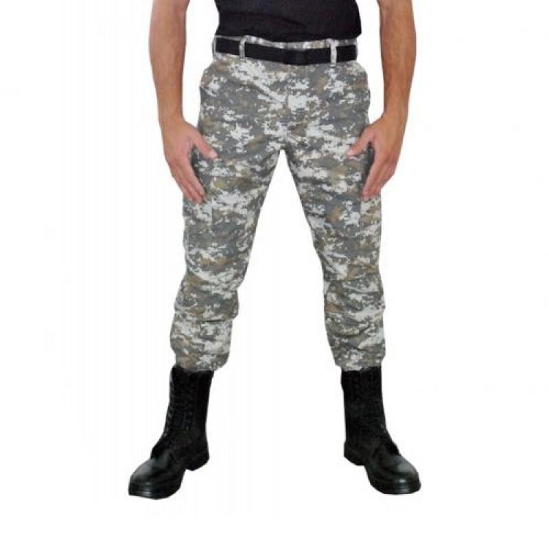 Calca Tatica Ripstop Camuflada Army Combat Digital,44