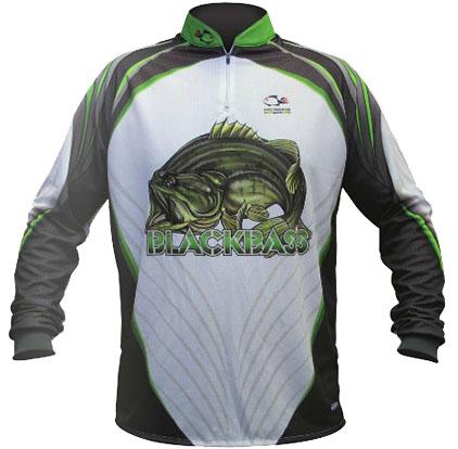 Camisa Faca na Rede NC 11- Black Bass