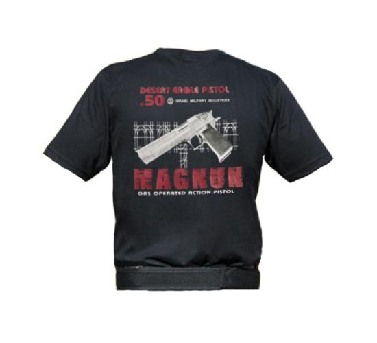 Camiseta Estampada Magnum - Preto