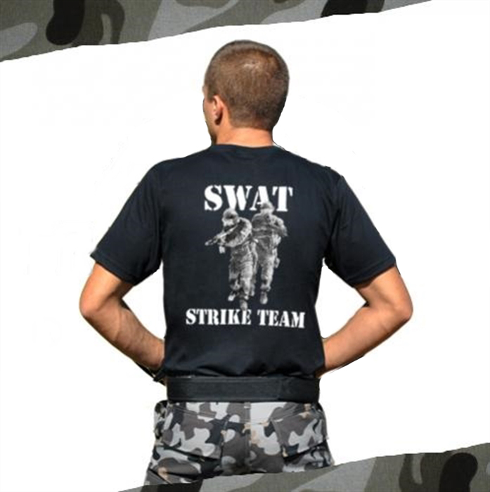 Camiseta Estampada Swat Steak Team 1-Preto G