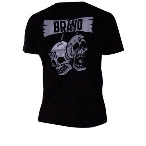 Camiseta Ripstop Estampada Caveiras Bravo Preta M