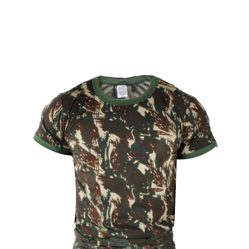 Camiseta Ripstop Masculina Camuflada Padrao EB Camuflada