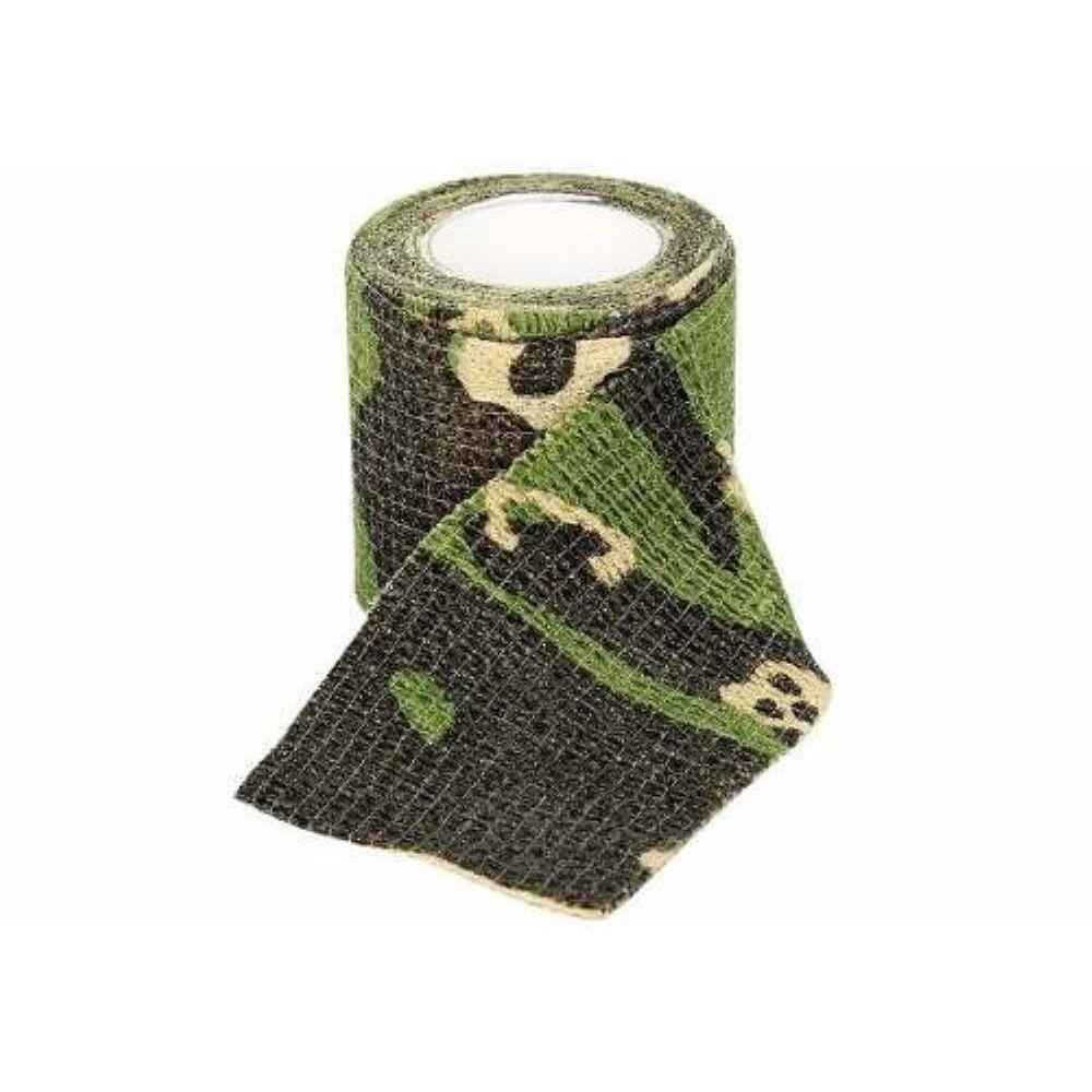 Camo Tape Fita P/ Camuflagem/ Prot de dedo 5M Camuflada