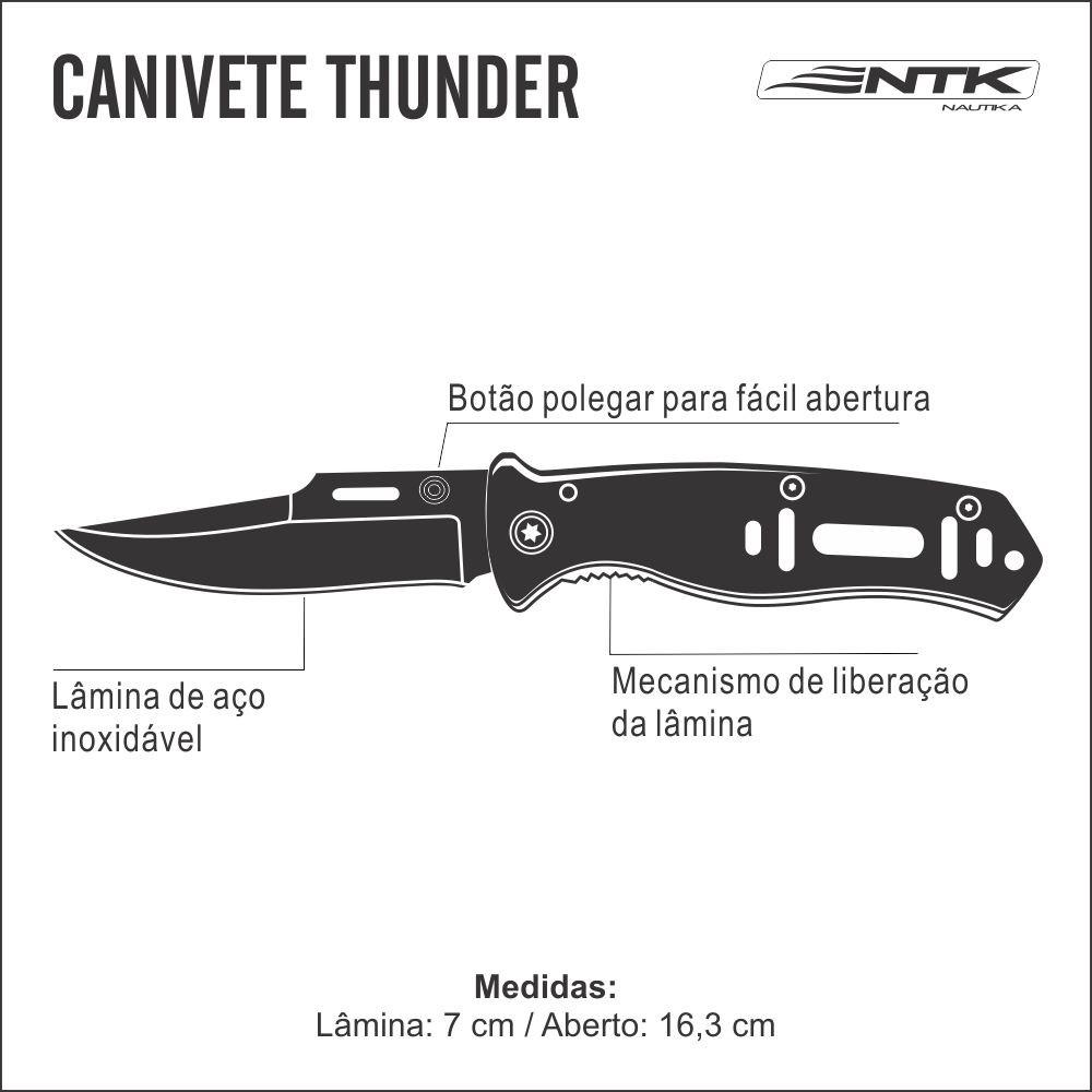 Canivete Nautika Thunder Unica