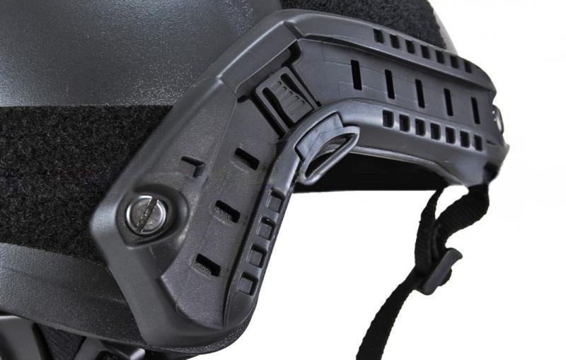 Capacete Tatico Recreativo Emerson Gear Modelo Fast B Preto