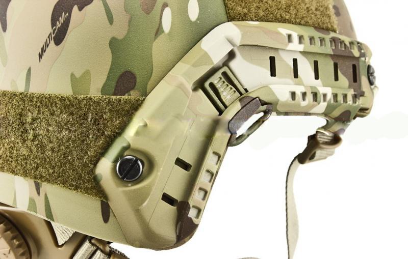 Capacete Tático Emerson Gear Fast PJ Multicam