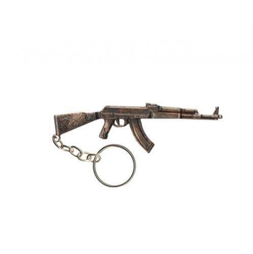 Chaveiro Metal AK47 11-Bronze
