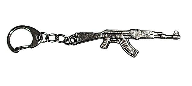 Chaveiro Metal AK47 7-Cromado