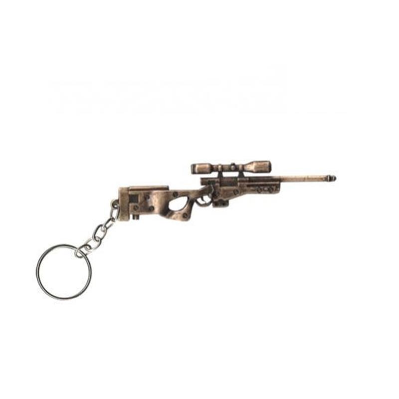 Chaveiro Metal Sniper L96 - Dourado