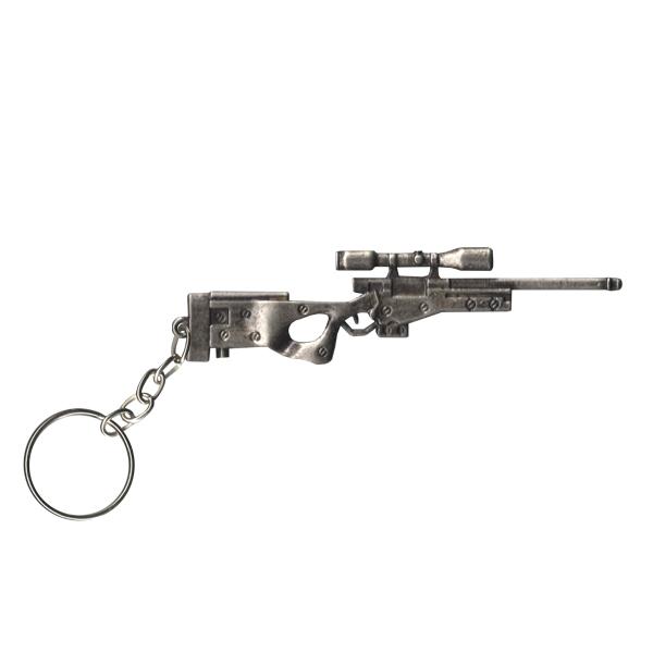 Chaveiro Metal Sniper L96 7-Cromado