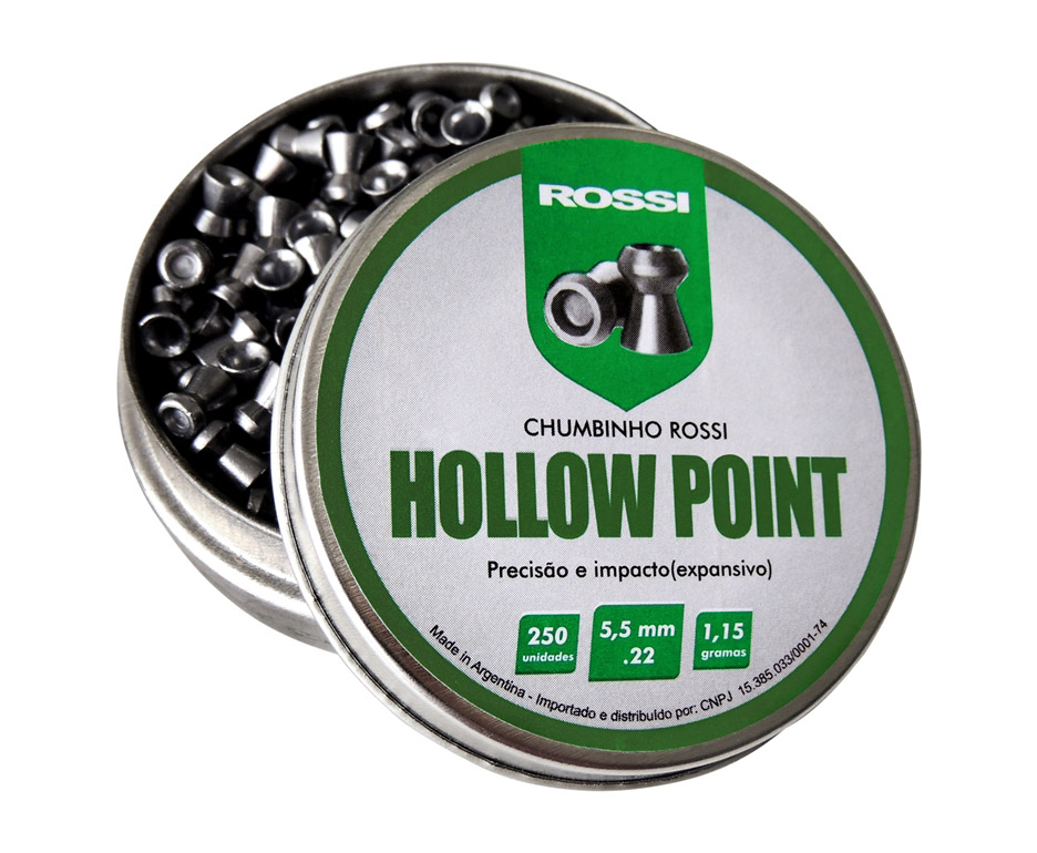 Chumbinho Rossi Hollow Point 5,5MM