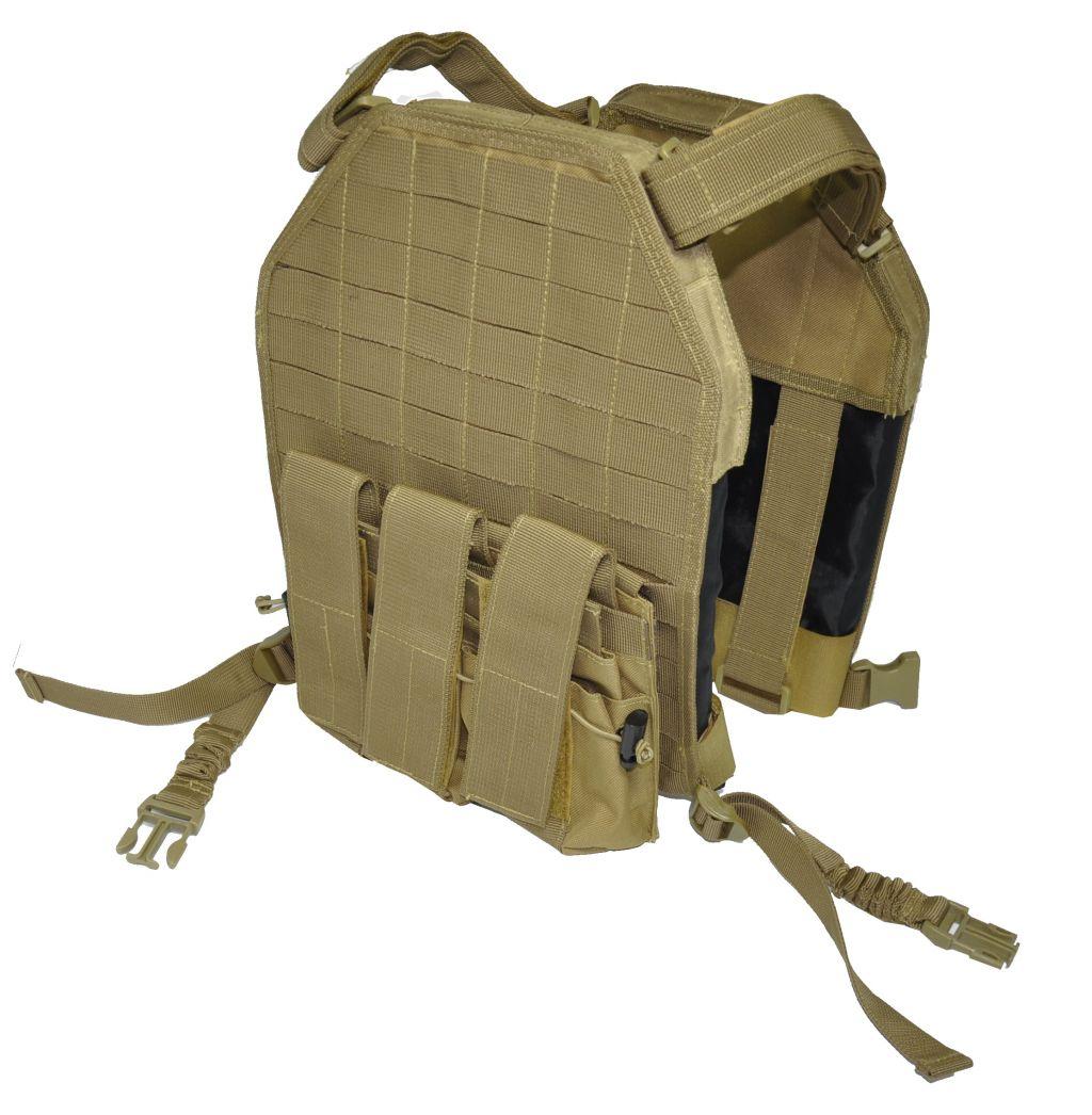 Colete Classic Army IV Vest Tan E062-K