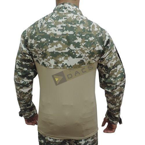 Combat Shirt Hrt Dacs - Digital Cerrado - TAM. G