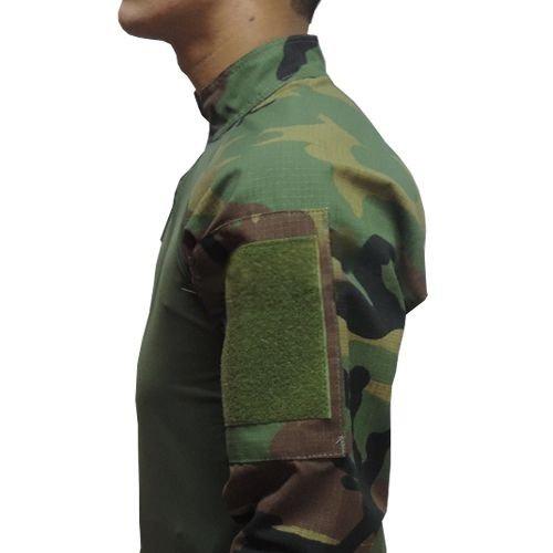 Combat Shirt Hrt Dacs - Woodland Tamanho: G