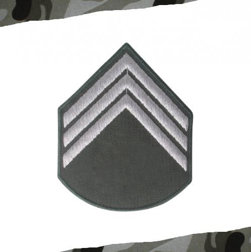 Divisa Bordada 3 SGT. Material Belico