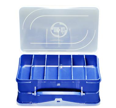 Estojo H.I Duplo Azul 20x13x77,4cm