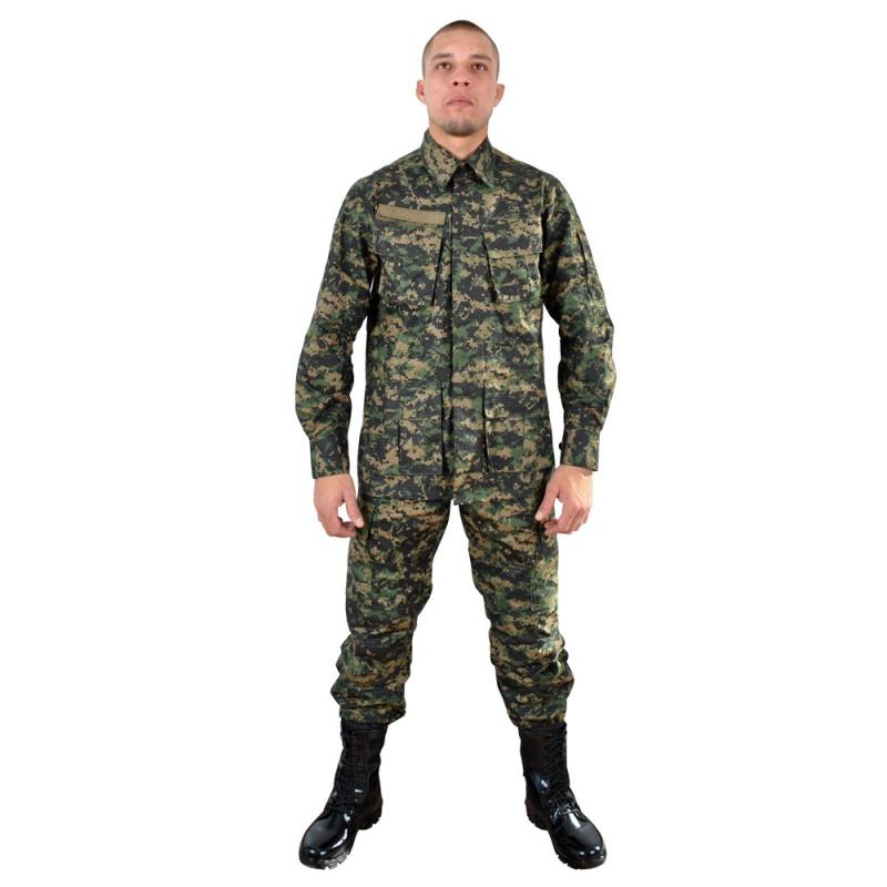 Farda Combate Ripstop Camuflada Marpat GG-48