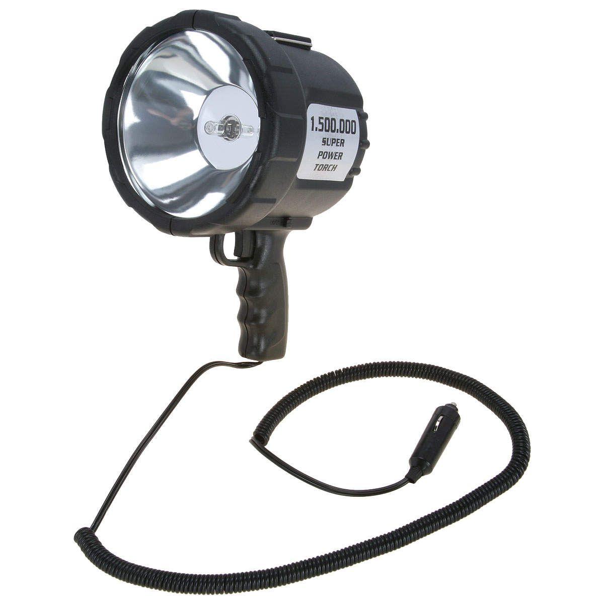 Lanterna Tocha Nautika 12V Unica