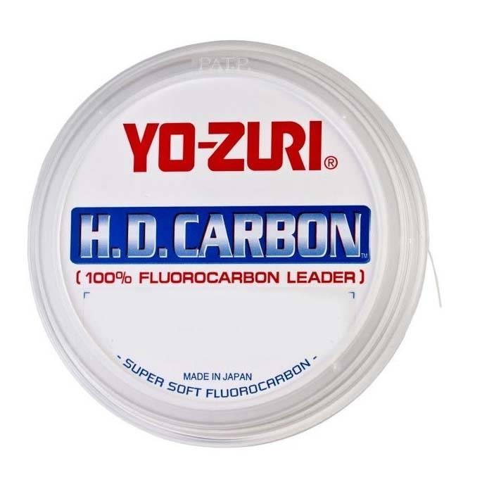 Linha Yo-Zuri Hd  cabon fluorcarbon 27M