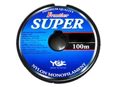 Linha Monofilamento Frontier Super 100M 5 Espessura: 0,369MM ; Libragem: 40LB