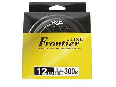 Linha Monofilamento Frontier YGK 5 300M Espessura: 0,37MM ; Libragem: 20LB