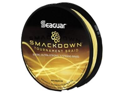 Linha Seaguar Multifilamento Smackdown Amarelo 8X 137m