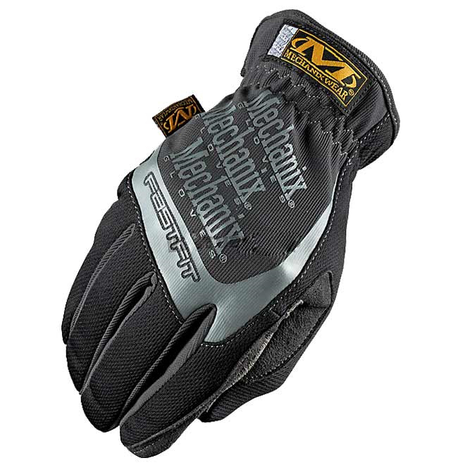 Luva Mechanix Fast Fit Cinza G