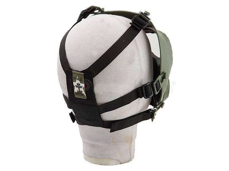 Mascara de gas simulacro  para Airsoft  c/ cooler
