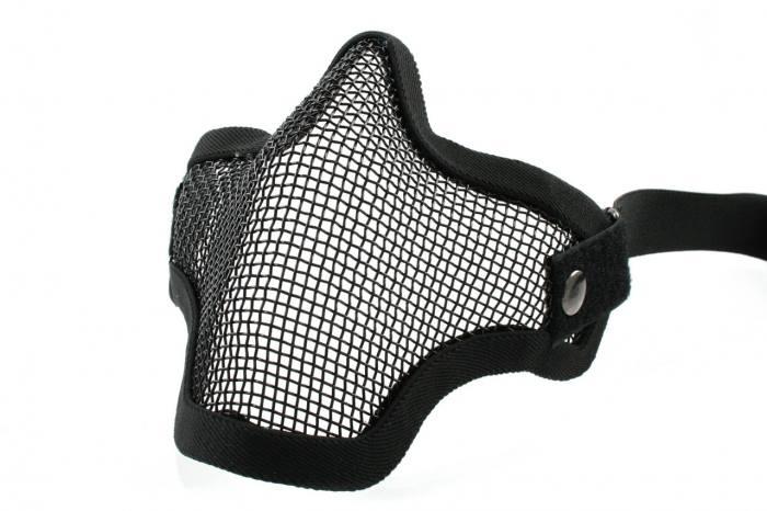Mascara Proteção de Boca P/ Airsoft TMC Strike Black