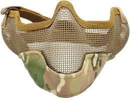 Mascara Proteção de Boca P/ Airsoft TMC V2 Strike Acu