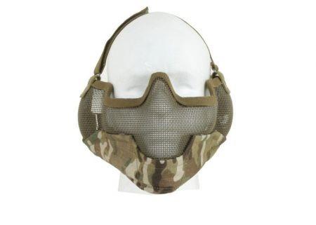 Mascara Proteção de Boca P/ Airsoft TMC V2 Strike Multicam