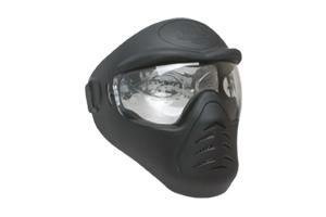 Mascara Ram Preto H1-2 para Airsoft / Paintball