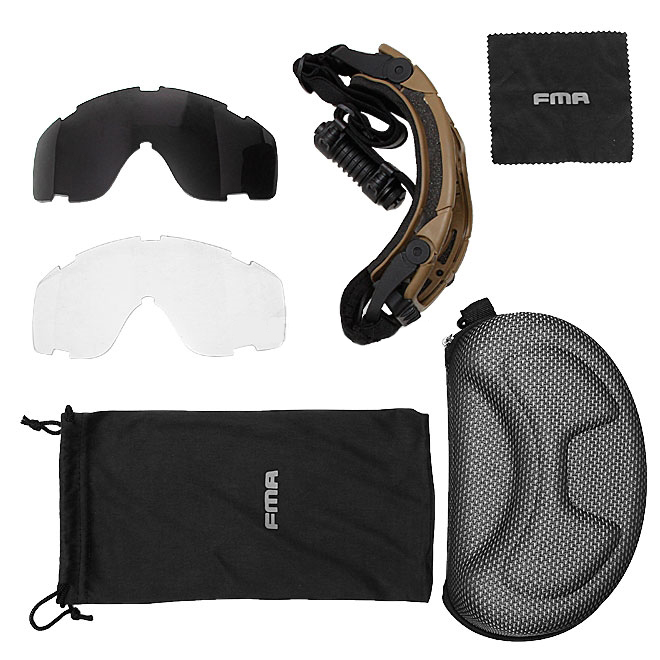Oculos de Protecao FMA Regulador Cooler Profissional Preto