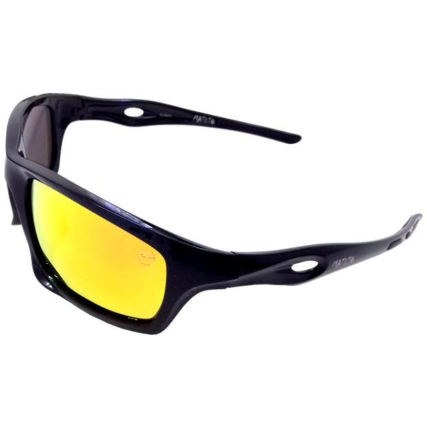 Oculos Matuto Polarizado Preto C/ Lente Marrom