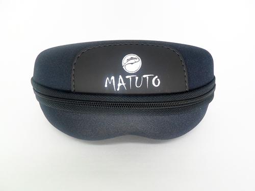 Oculos Matuto Polarizado Preto Cristalizado C/Lente Preta