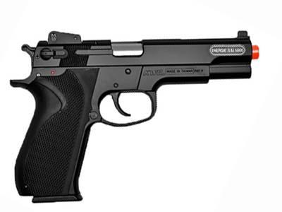 Pistola Airsoft Smith & Wesson M4505 + Maleta de Plástico Rossi