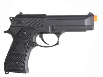 Pistola de Airsoft Beretta CM126 M92F Elet Plast CAL 6MM