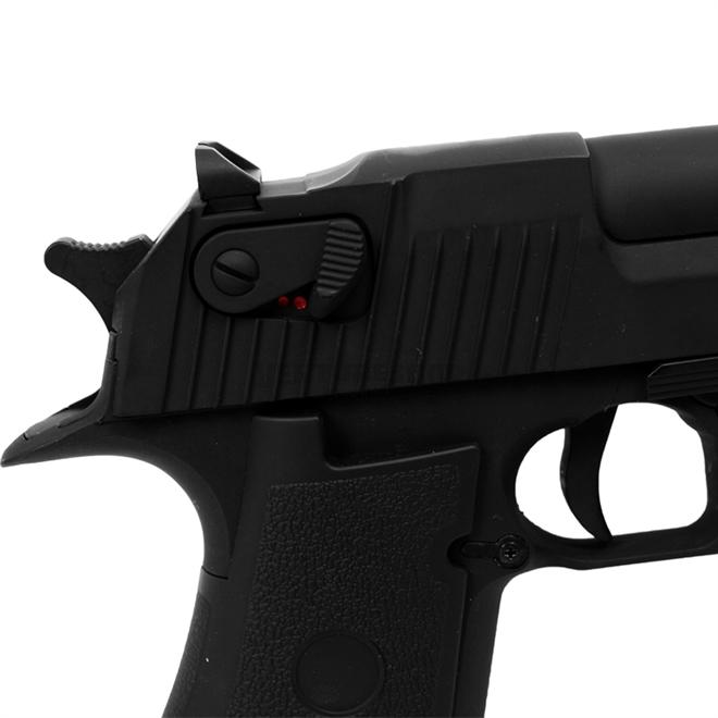 Pistola Airsoft Cyma Desert Eagle CM121 metal Elétr bivolt