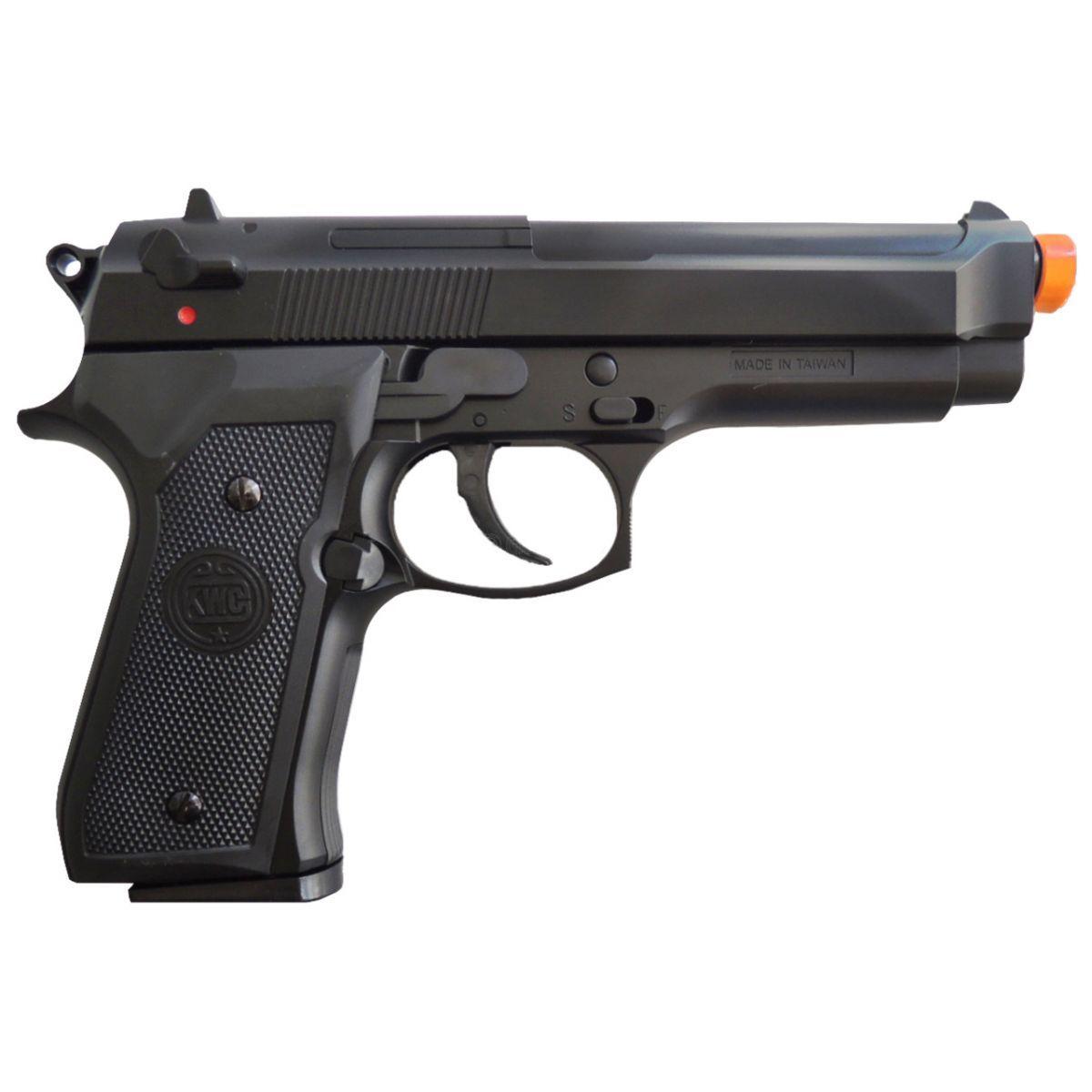 Pistola de Airsoft Kwc Beretta M92 Mola Plast BB 6MM