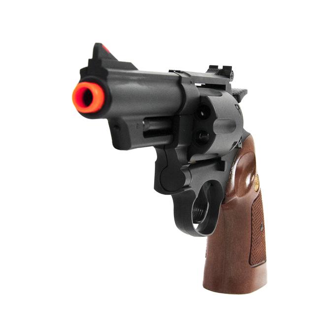 Revolver de Airsoft Spring UHC Modelo UA-931B Preto Cal 6mm