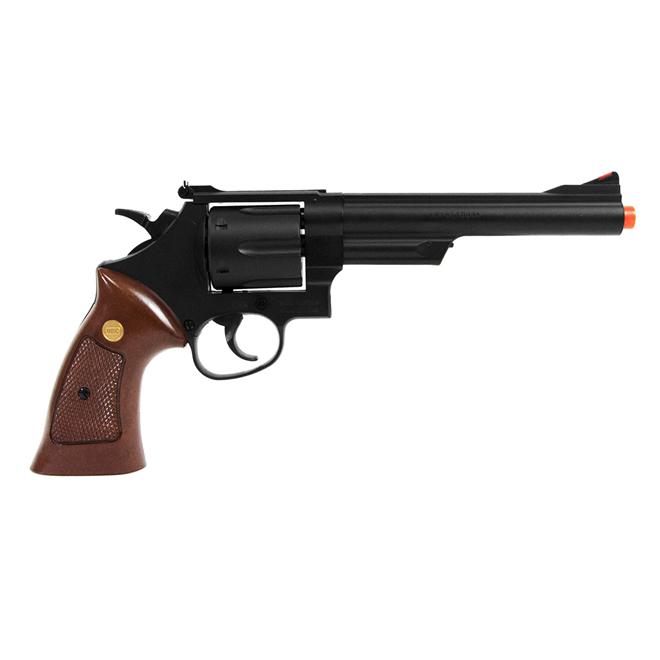 Revolver de Airsoft Spring UHC Modelo UA-932B Preto Cal 6mm