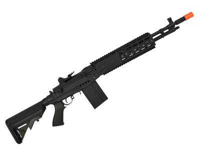 Rifle de Airsoft Cyma M14 Ebr Full Metal Elet 6MM