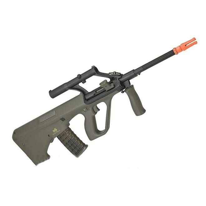 Rifle de Airsoft JG Works Steyr Aug AU-2G elétrica 6mm