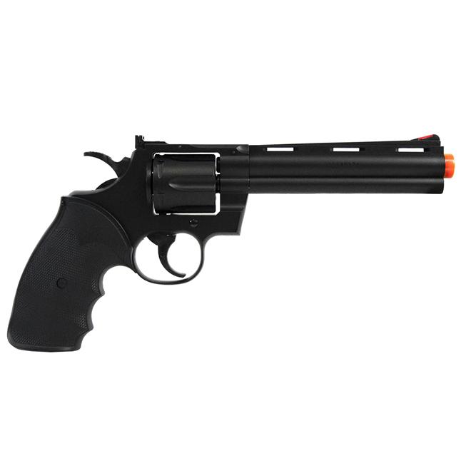 Revolver de Airsoft UHC Modelo Python Preto UA-938B
