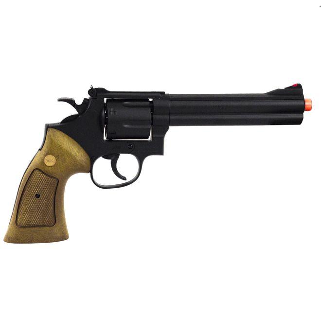 Revolver de Airsoft UHC Modelo UA-934 Preto
