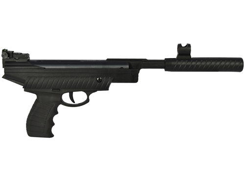 Pistola Pressão Hatsan HT25 Preta 4.5MM + Kit Coletor de Chumbinhos + Alvo