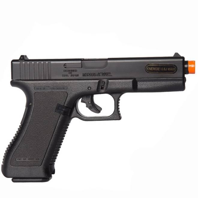 Pistola de Airsoft Spring Glock G17 6MM - KWC