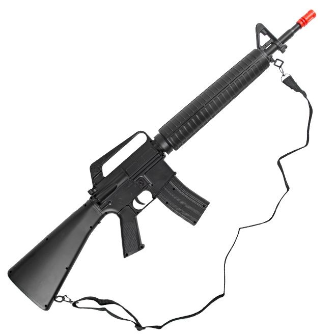 Rifle de Airsoft  Spring  M16 M16A2 Toy 6MM - Well